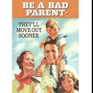 retro bad parenting mothers day advice funny