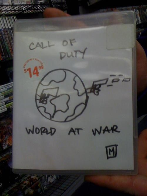 call of duty world at war IRL cover art video games funny - 7439283200