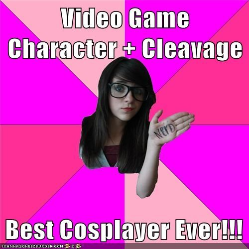 cosplay,Idiot Nerd Girl,video games