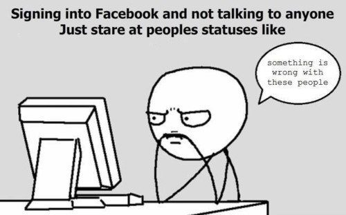 lurkers,true story,facebook,funny