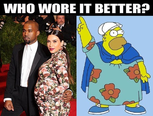 homer simpson,kim kardashian,the simpsons