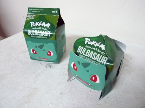 Pokémon IRL bulbasaur cartons funny - 7439521024