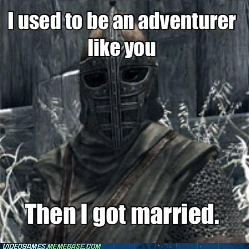 Memes arrow to the knee Skyrim funny - 7439605248
