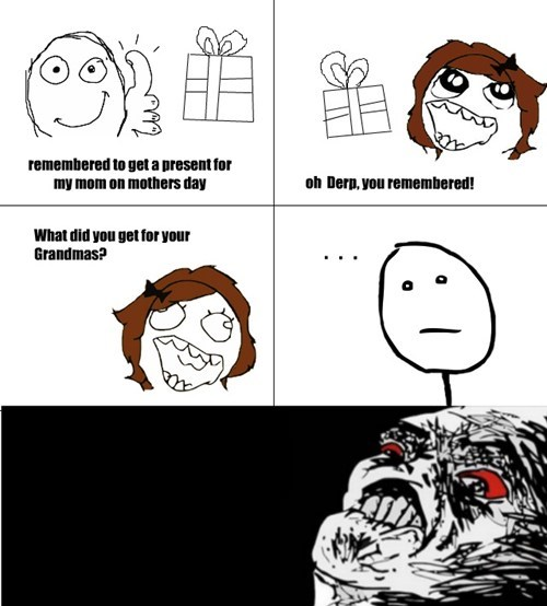 funny Rage Comics mothers day - 7439676672