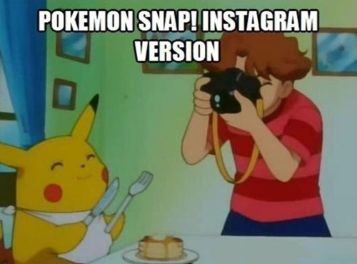anime,instagram,pokemon snap,pikachu,funny