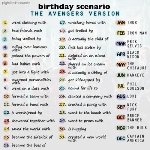 wtf birthday funny avengers scenario - 7439926528
