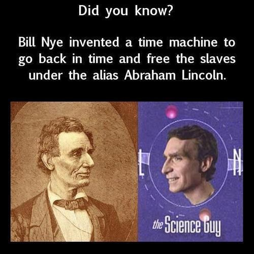bill nye time travel funny - 7439967488