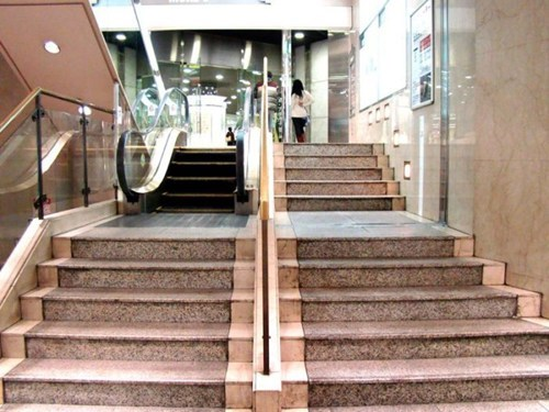 design,engineering,escalator,temporarily stairs,genius,funny