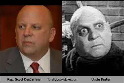 uncle fester,scott desjarlais,totally looks like,funny