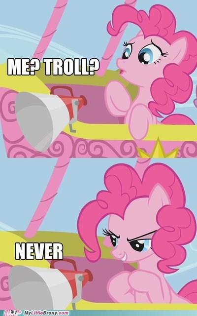 trolling pinkie pie funny - 7440577536