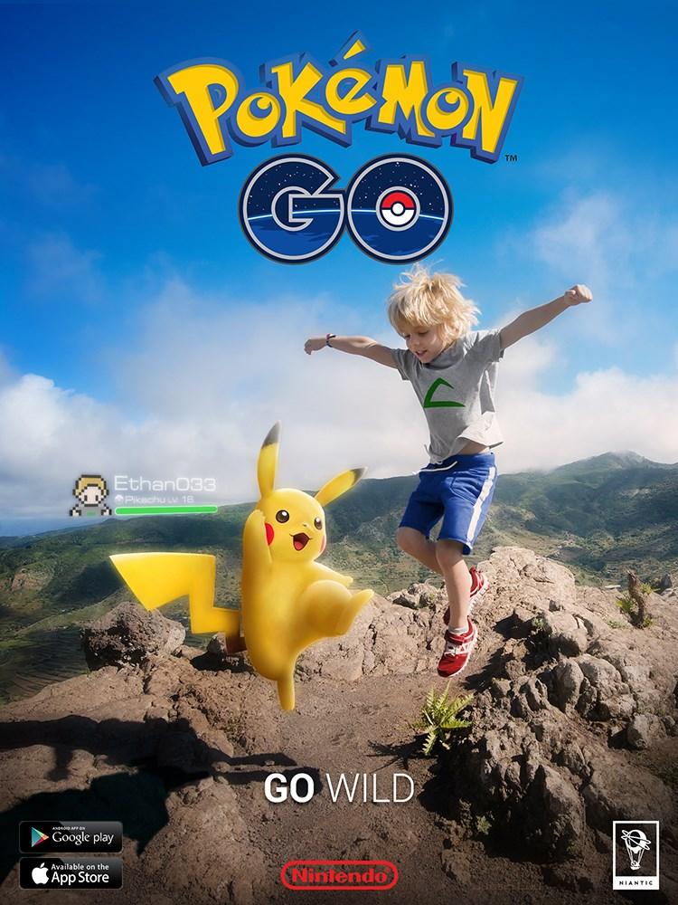 pokemon go posters