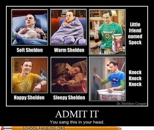 big bang theory,song,sheldon,funny