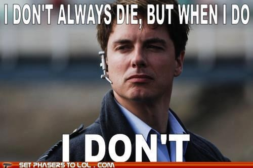 Captain Jack Harkness doctor who funny