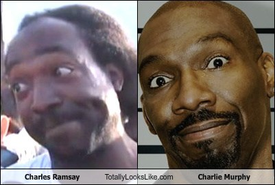 charles ramsey,totally looks like,charlie murphy,funny