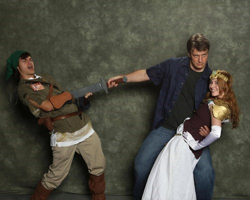 cosplay,nathan fillion,video games,celeb,zelda