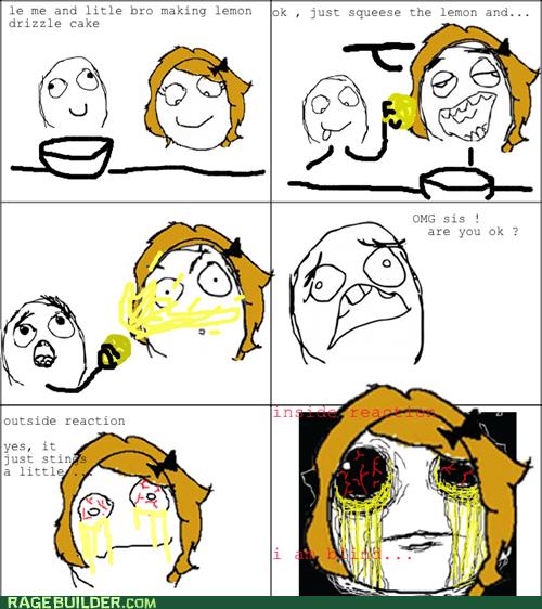 lemons,eyes,lemon juice,funny