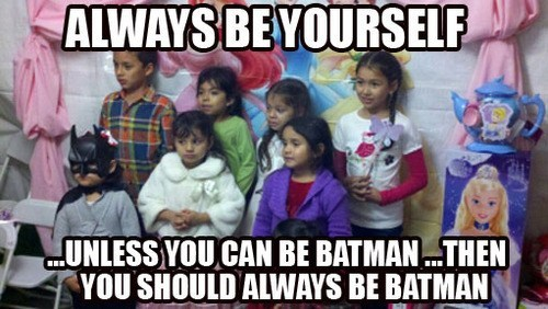 Batman First, Yourself Second