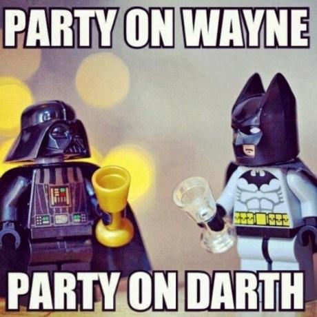 legos waynes world batman funny darth vader - 7443570688