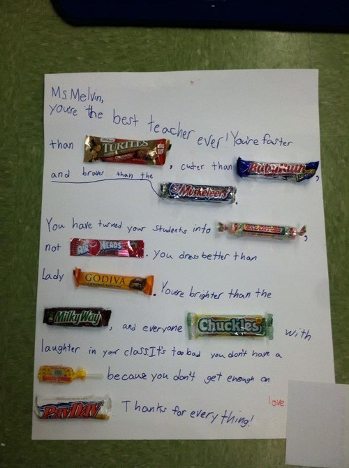 candy,teacher appreciation week,puns,funny
