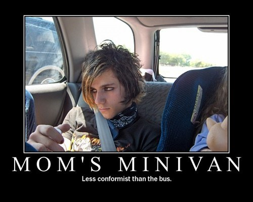 minivan conformist mom funny mothers day - 7443591680