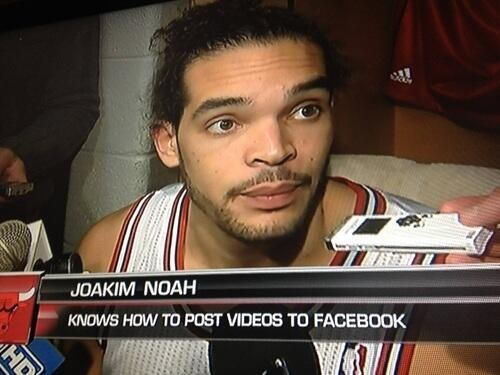 joakim noah sports chicago bulls funny - 7443626496