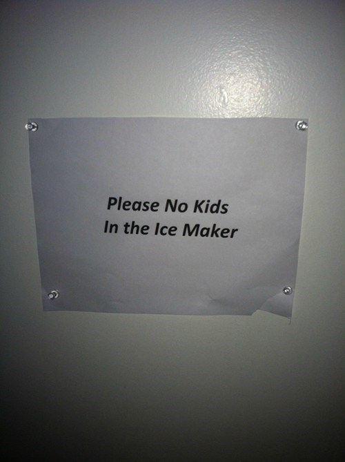 FDA ice maker funny