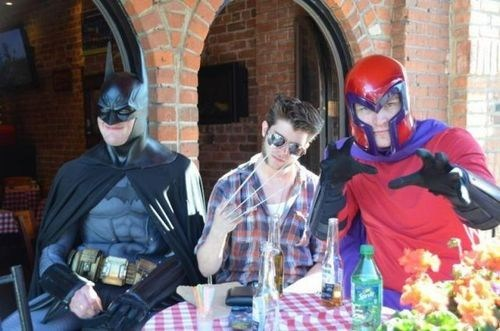 Magneto costume batman wolverine funny - 7443676416