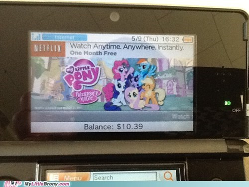 my little pony 3DS netflix nintendo