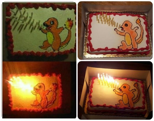 Close Enough charmander cakes funny - 7443763712