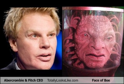 beast,mike jeffries,list,totally looks like,funny