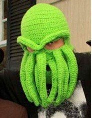 Crocheted face mask win funny - 7443819520