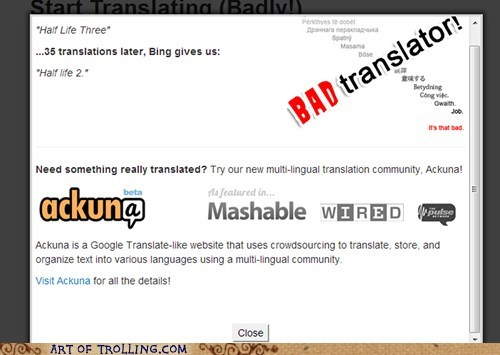 Bad Translator half life funny - 7443902720