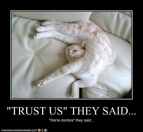 """TRUST US"" THEY SAID..."