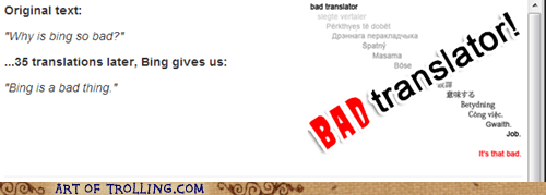 bing Bad Translator bing translator - 7444029952