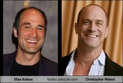 elias koteas,totally looks like,Christopher Meloni,funny