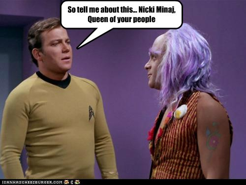 Star Trek nicki minaj funny - 7444081664