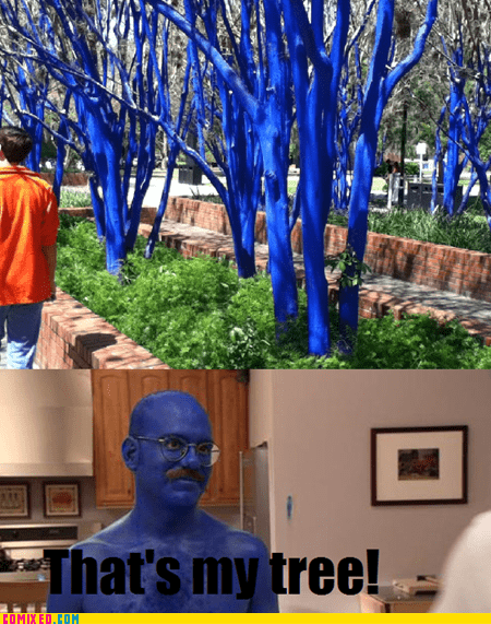 blue tobias fünke arrested development funny - 7444127744