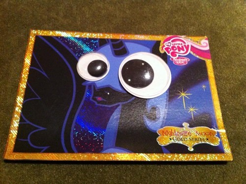 nightmare moon googly eyes funny derp is-the-title-long-enough - 7444319744