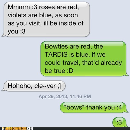 text,tardis,doctor who,poems,g rated,AutocoWrecks