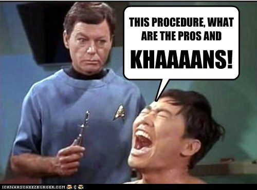 Set Phasers To Lol Khan Sci Fi Fantasy Cheezburger