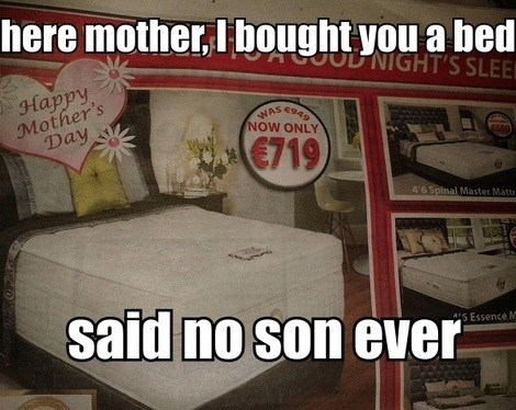 ads beds funny mothers day - 7444966400