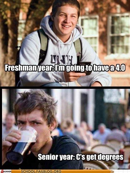 quotes senior freshman funny college g rated School of FAIL - 7445008640