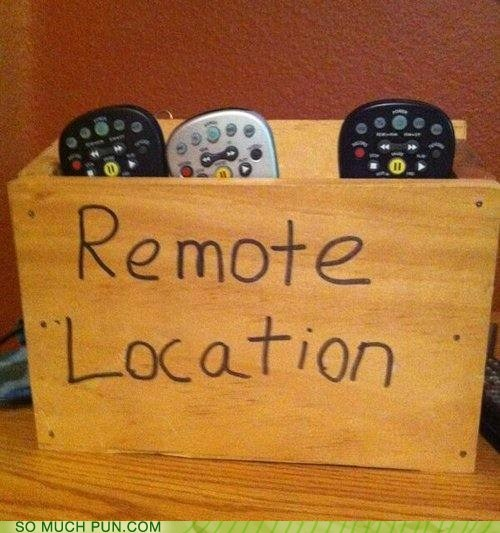 remote controls,puns,funny
