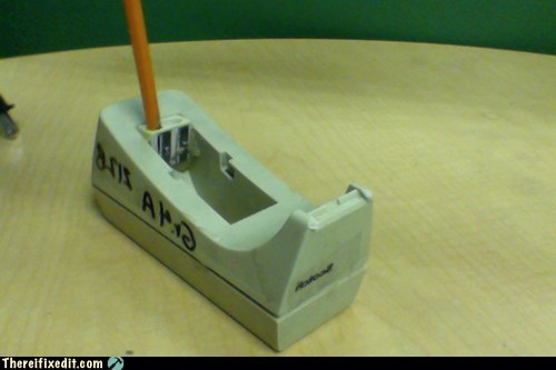 "It\'s a ""Pencil Sharpener"""