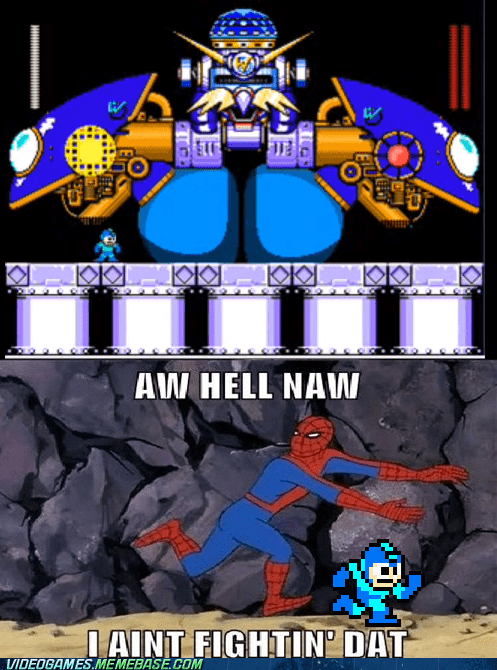 Spider-Man,mega man,video games,funny