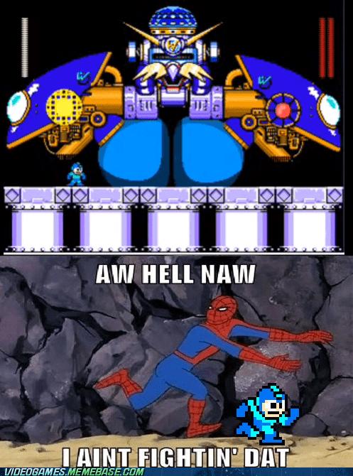 Spider-Man mega man video games funny - 7446152704