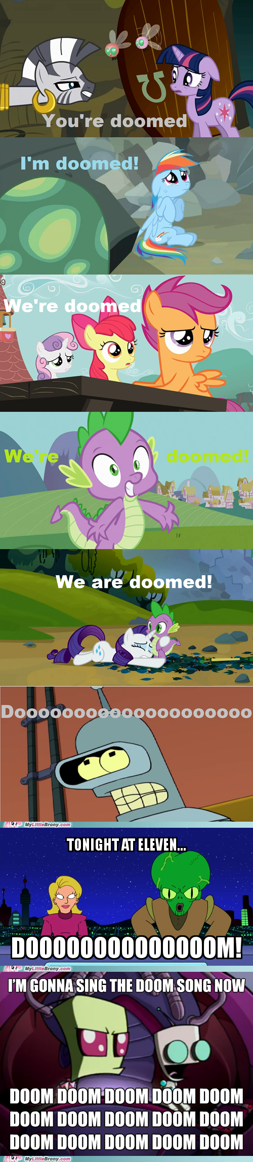Invader Zim my little pony doom reframed futurama funny - 7446153728