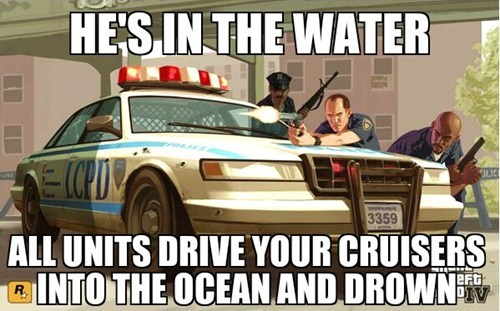 Memes,Grand Theft Auto,video game logic,funny