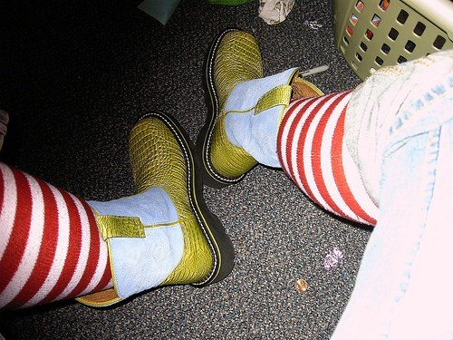 shoes socks boots funny - 7446353408