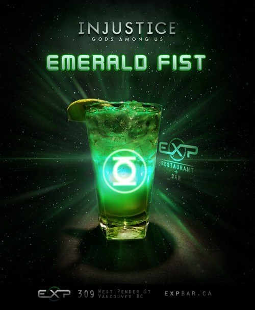 awesome mixed drink Green lantern funny - 7446375936